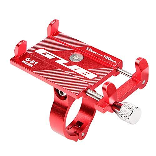 Soporte para teléfono de bicicleta, soporte para manillar de motocicleta, soporte para teléfono móvil para iPhone 12/11 Pro Max/XS Max/XS/XR/8/8 Plus/7 (D)