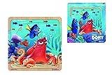 Simba Eichhorn 100003387–Disney Finding Dory, plantilla Puzzle, de 2surtidos, multicolor