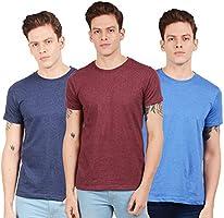 Scott International पुरुषों के लिए रेगुलर फिट टी-शर्ट (3 का पैक)