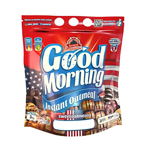Max Protein Good Morning Instant Oatmeal - 3 kg NutChoc (Nutella)