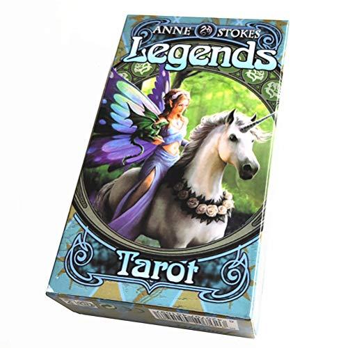 SYEA 78 Tarot-Deck Leicht Zu Tragende Tarot-Decks Astrologie-Tarot-Karten-Deck