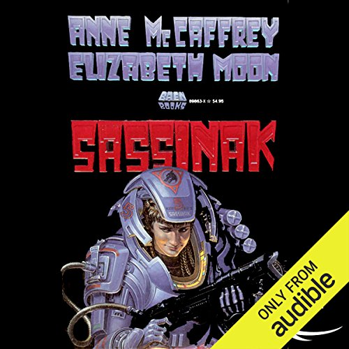 Sassinak audiobook cover art