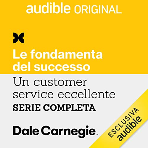 Un Customer Service eccellente. Serie completa copertina
