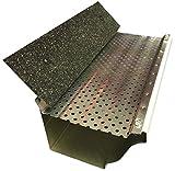 (200 feet) Shur Flo X Leaf Guard Gutter Protector for 5' K-Style Gutters. Mill Finish Aluminum. 50 Panels x 4.00' Each.
