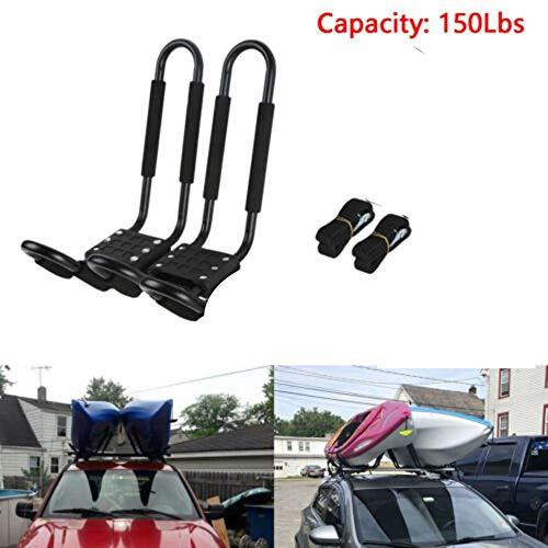 MROSW Auto Kayaking Dachhalterung Car Top Kajak Bracket Kanu Skifahren Dach Abnehmbar Und Tragbarer Universal-Gepäckträger