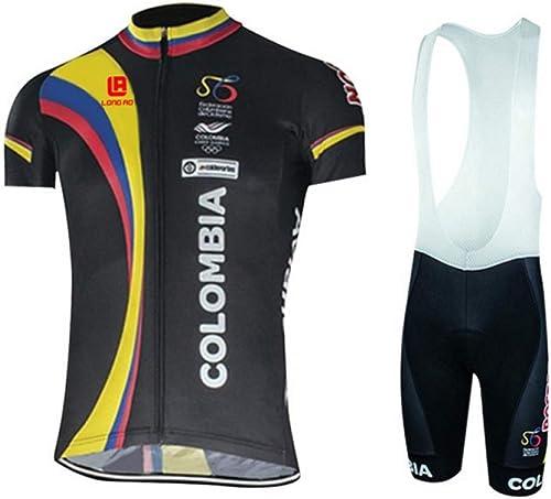 Compression Shirt Set pour Hommes Slings à Manches Courtes pour Hommes vêteHommests de vélo équipeHommest de vélo de Sport