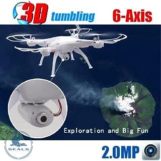 SYMA X5SC RC Drone with HD Camera x5c Upgrade Version,Headless Mode One Key Return ---White