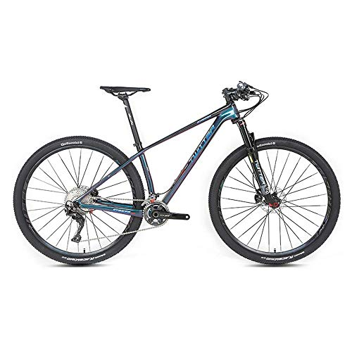 Sport all'Aria Aperta Mountain Bike in Fibra di Carbonio, XT27.5 Pollici 29 Pollici 22 velocità 33 velocità Doppio Freno a Disco per Adulti Uomini e Donne Cross Country Alpinismo Bicicletta