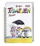 Helme Heine Familienplaner Buch A6 - Heye-Kalender 2020 - Familienkalender für 4 Personen - Schulferien und Stundenplänen - 11,6 cm x 16,3 cm