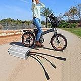 DAUERHAFT La Apertura del Controlador de modificación Frontal es de aleación de Aluminio de 100 mm Duradera, para Bicicletas y Bicicletas de montaña