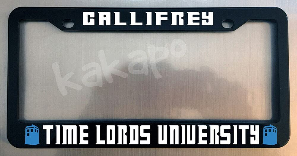 Gallifrey Time Lords University DR Glossy low-pricing FANS Ranking TOP13 License Black WHO