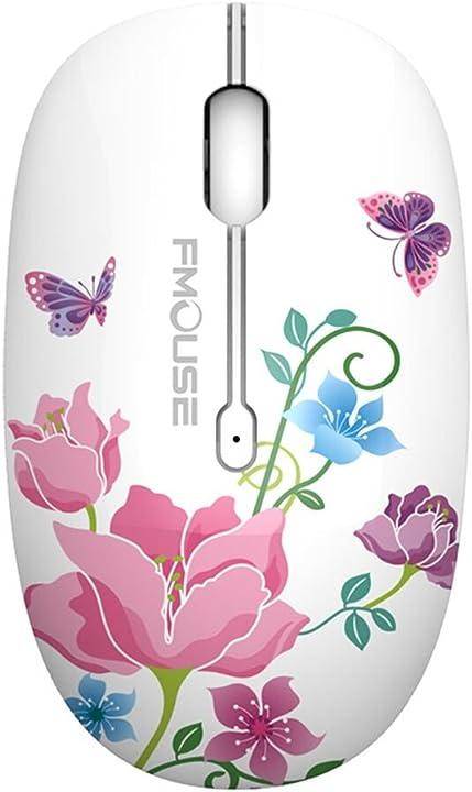 Mouse senza fili wireless 2.4 g cute silenzioso ottico mouse da viaggio tenmos m101 MC700AQ