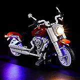 Kit de iluminación LED para bloques de construcción 10269, juego de luces de construcción de motocicleta, modelo de ladrillo de regalo,
