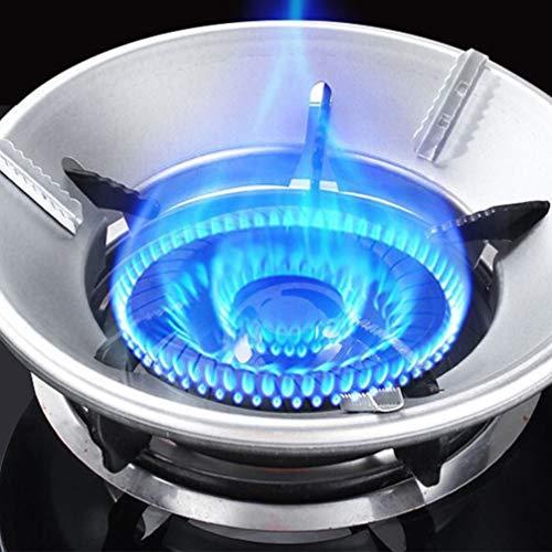 Hemoton Estante de Wok Soporte de Anillo de Wok Soporte para Placas de Gas Soporte de Cacerola de Hierro Fundido Estufa Trivets Olla de Leche Estufa Cocina de Cacerola Quemador de Gas