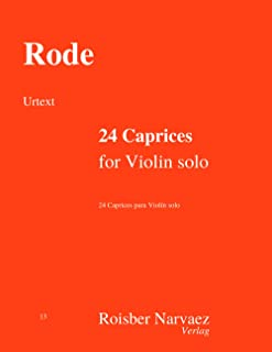 24 Caprices for Violin solo: Urtext edition