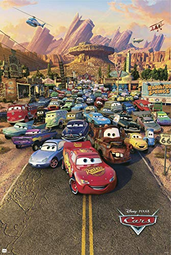 Posters: Cars Poster - One Sheet (36 x 24 inches)
