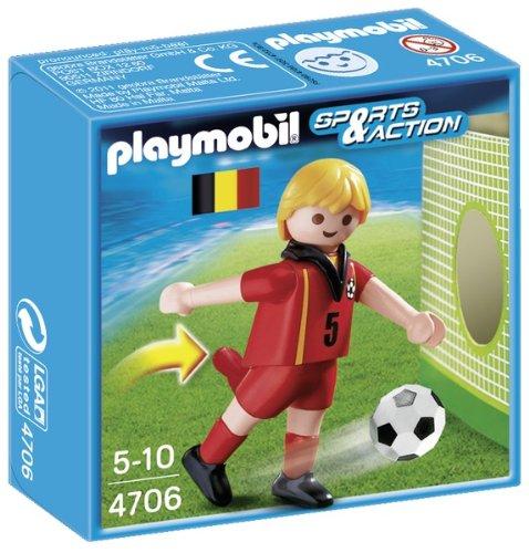 Playmobil Fútbol - Fútbol: Jugador Bélgica (4706)