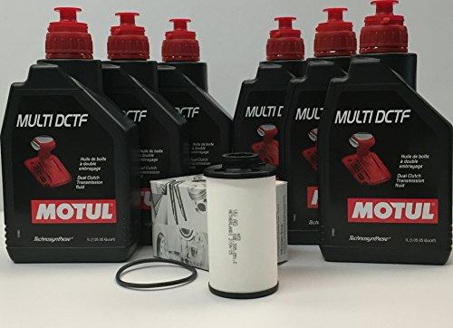 Getriebeöle technosynthese MOTUL MULTI DCTF 6 liter (G052182A2) DSG+ Original filter 02E305051