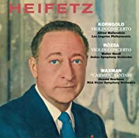 Korngold & Rozsa: Violin Concertos & Waxman: 'Carm by Jascha Heifetz (2009-10-21)