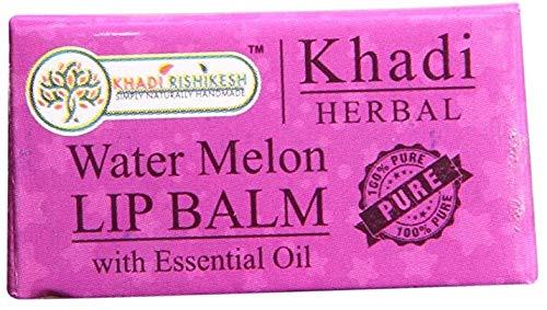 Glamorous Hub Khadi Rishikesh Herbal Water Melon Lip Balm 8Gm (el empaque puede variar)