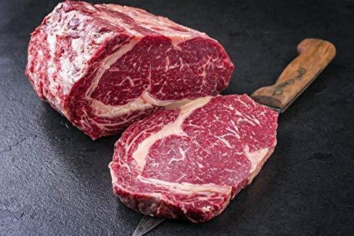 3 kg Entrecote / Ribeye am Stück vom besten Färsenfleisch, (mindestens 3 kg) zum selber schneiden, gut zum eingefrieren geeignet, das perfekte Steak (kann aus zwei Stücken bestehen)