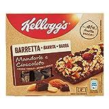 KELLOGG`S barrita de cereales almendras y chocolate caja 128 gr