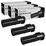 LD Compatible Toner Cartridge Replacements for Xerox 106R03582 High Yield (Black, 3-Pack)