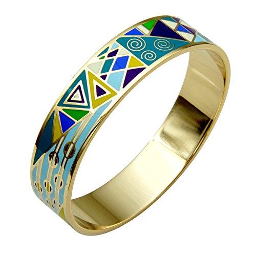 Hochwertiges Armband, Emaille, gegliedert.Schöne Farben und aktuelle Motive.Sehr modisch, ME25.