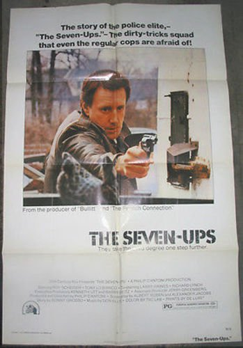 THE SEVEN UPS / ORIGINAL U.S. ONE-SHEET MOVIE POSTER (ROY SCHEIDER)