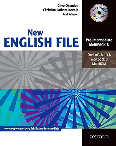 New English file. Pre-Intermediate. Student's pack. Part B. Per le Scuole superiori: Six-level general English course for adults