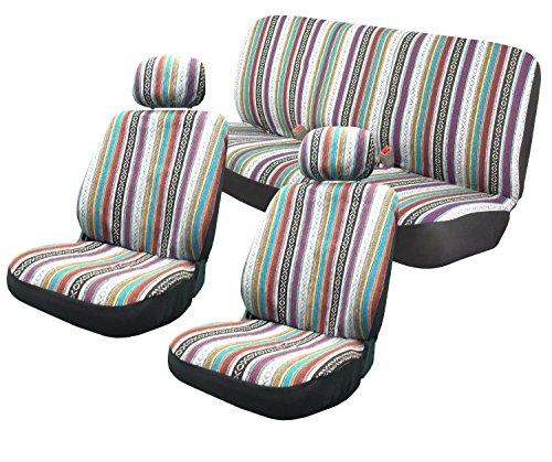 Surprising Bestseller Baja Inca 11Pc Saddle Blanket Seat Covers Set Machost Co Dining Chair Design Ideas Machostcouk