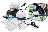 Unbekannt Orbis 30020 Airbrush Power Studio, Komplett-Set inkl. Kompressor und Zubehör, Patrone einstecken und lossprühen, Airbrushsystem für Kinder und kreative Erwachsene, kinderleicht und sauber -