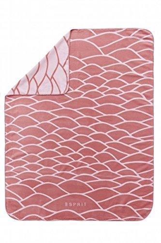Esprit Tagesdecke Evan - Coral pink - 140 x 200 cm