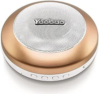Yoobao YBL-201 Wireless Bluetooth 3.0 Mini Portable Speaker With Micro SD Card Slot - Gold -