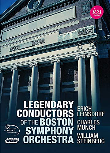Legendary Conductors of the Boston Symphony Orchestra [5 DVDs]