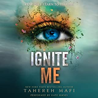 Ignite Me audiobook cover art