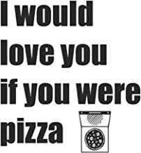 Pizza Love: Lined grid Journal or Notebook (6x9 inches) with 120 Pages (German Edition)