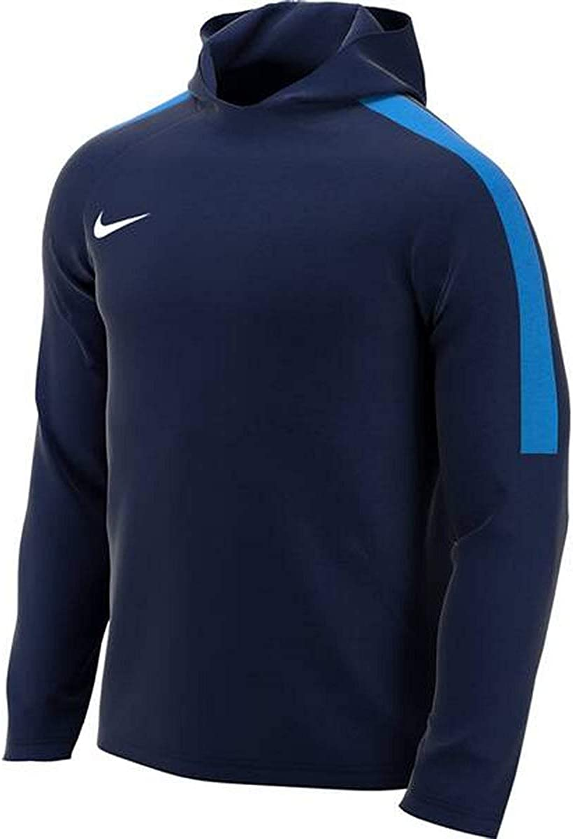Nike Academy18 Hoodie Sweat d'entrainement Homme Obsidian/Royal Blue/White