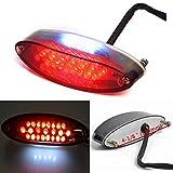 Universal 28 LEDs Motorcycle ATV Tail Light Brake Stop Lights Compatible with Suzuki Harley Davidson Honda Kawasaki DR DRZ 650 400