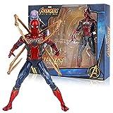 Marvel Hero Gwen Stacy Spider Man Far from Home Homecoming Figuras De Acción Spiderman Venom Spider Man Figurine PVC Toy Model 18Cm