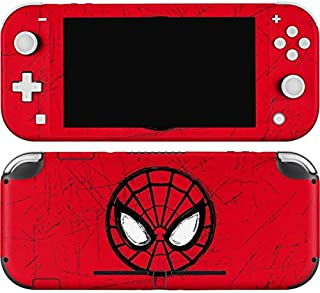 Skinit Sticker de jeu pour Nintendo Switch Lite sous licence officielle Marvel/Disney Spider-Man Face