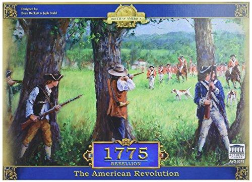 Academy Games ACA05375 1775 Rebellion, Brettspiel