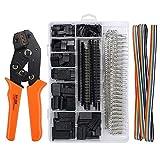 WFAANW SN28B trinquete crimpadora 2,54/2,8/3,0/3,96/4,8 Plug terminal de resorte + 1550Pcs Terminal de trinquete Wire Crimper Piler