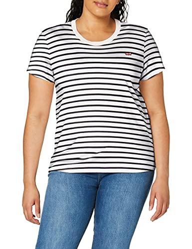 Levi's tee Camiseta, Benitoite Cloud Dancer, XX-Small para Mujer