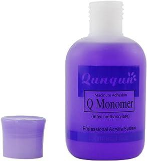 Gel de uñas BBsmile Esmalte de uñas profesional Q Monomer Acrylic Nail Liquid Crystal Liquid 150ml (Púrpura)