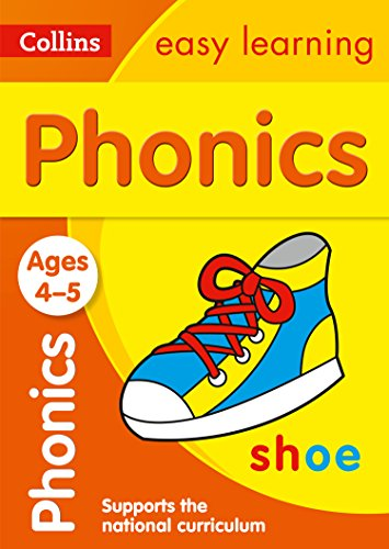 Phonics Ages 4-5 (Collins Easy Learning Preschool): Ideal for Home Learning