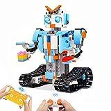 Seckton Building Blocks Robot Kit for Kids Remote Control Robot Engineering Science Educational STEM...