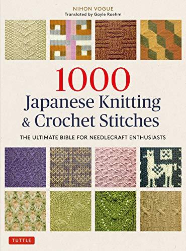 1000 knitting patterns book - 1