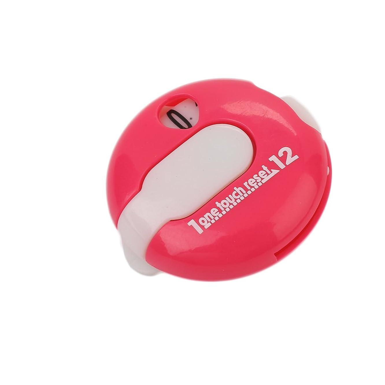 Golf Score Counter 1 Pcs, Portable Mini Plastic Golf Stroke Counter Scorekeeper Scoring Tool Clip On Golf Glove