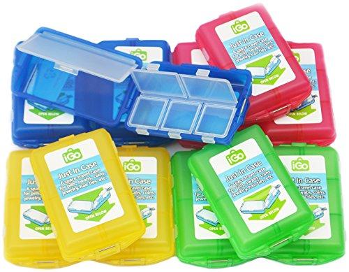 Pack of 12 - iGo 6 Compartment Trav…